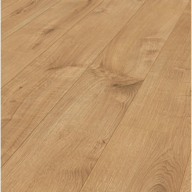Krono Original Eurohome Cottage Twin Clic 7mm Sherwood Oak 4v Groove Laminate Flooring (5985)