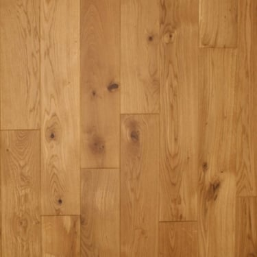 European 20mm x 150mm Oak Lacquered Solid Wood Flooring (2415)