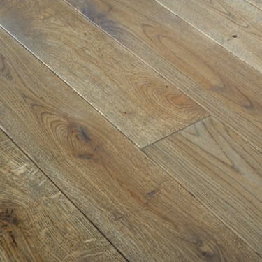 European 20mm x 150mm Smoked Oak HPPC Oiled Solid Wood Flooring (2417)