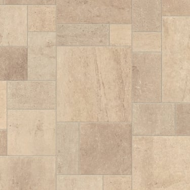 Exquisa 8mm Ceramic Light Tile Laminate Flooring (EXQ1554)