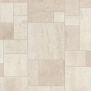 Exquisa 8mm Ceramic White Tile Laminate Flooring (EXQ1553)