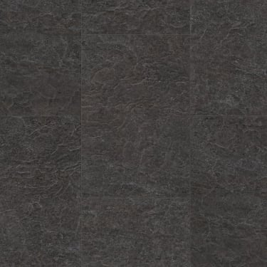 Exquisa 8mm Slate Black Galaxy Tile Laminate Flooring (EXQ1551)