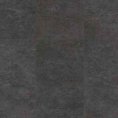 Exquisa 8mm Slate Black Tile Laminate Flooring (EXQ1550)