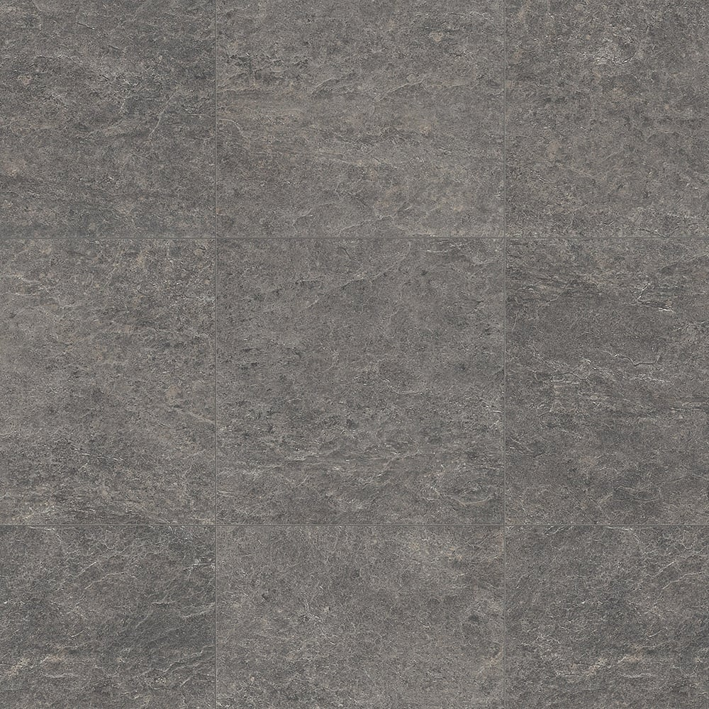 Exquisa 8mm Slate Dark Tile Laminate Flooring Exq1552