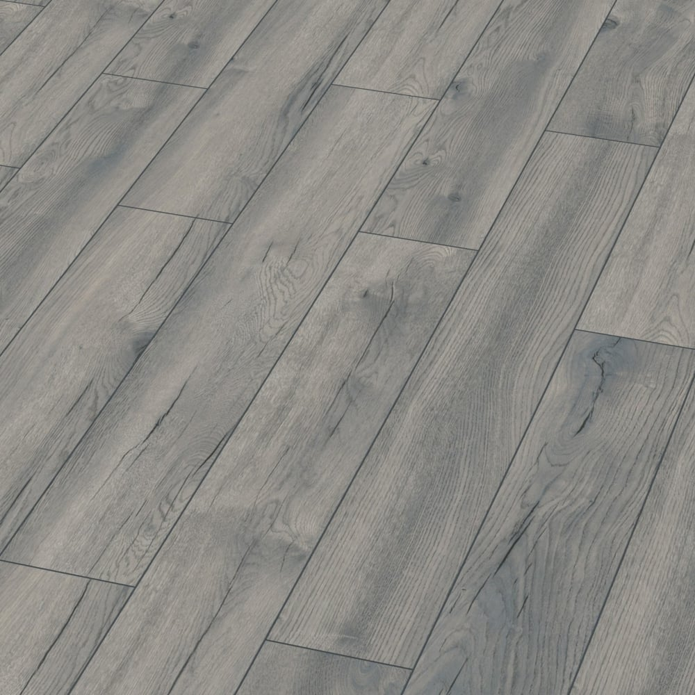 Exquisite 8mm Pettersson Grey Oak Laminate Flooring D4765