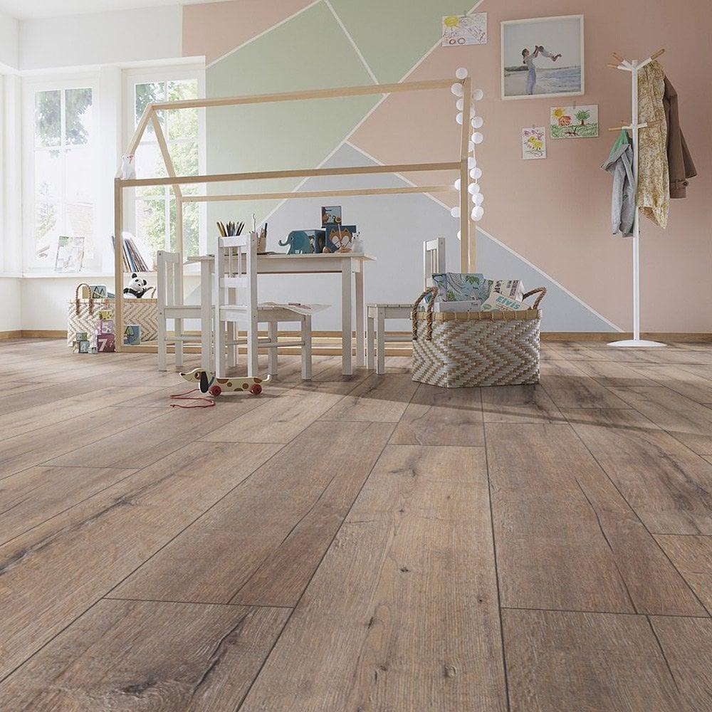 Kronotex Exquisite Plus 8mm Rift Oak, Real Wood Effect Laminate Flooring