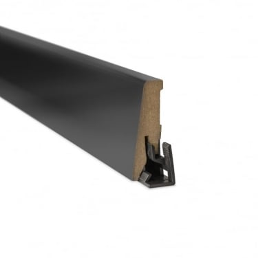 Black High Gloss 2.4m Skirting Board (U190)