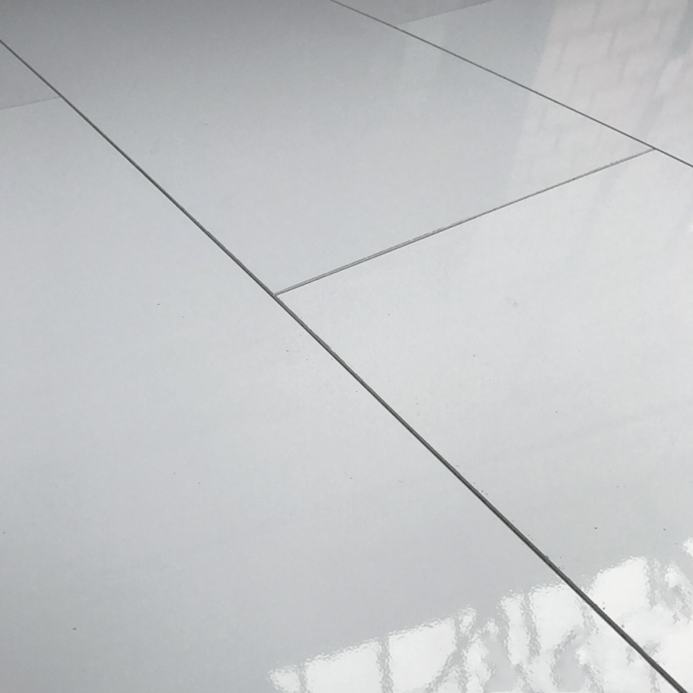 Falquon High Gloss 8mm Grey Tile High Gloss Flooring