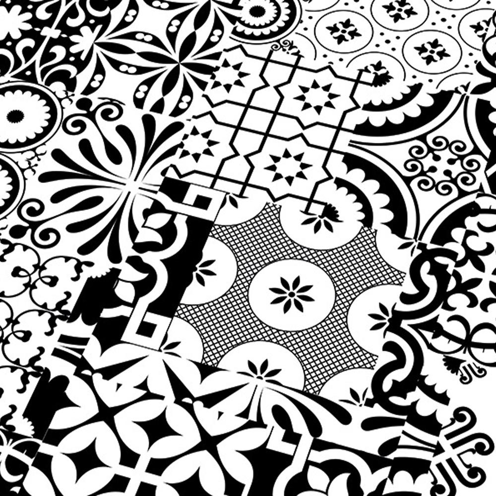 Black And White Flooring Falquon Flooring Quadraic 8mm Black White Laminate Flooring