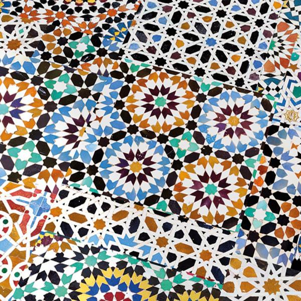 Falquon Flooring Quadraic 8mm Mosaic Laminate Flooring