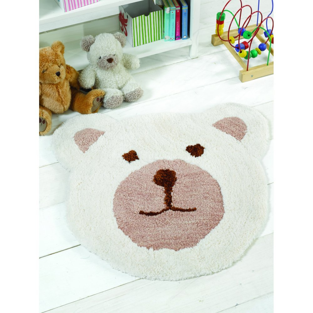 Flair Rugs Nursery Bear Natural Rug