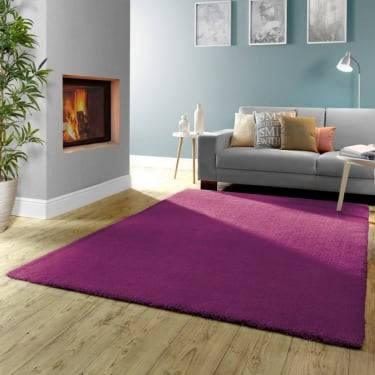 Forever Rugs Burst 71151-022 Purple Rug