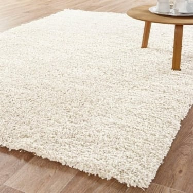 Forever Rugs Sunshine 70071-060 White Shaggy Rug