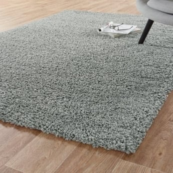 Forever Rugs Sunshine 70071-099 Middle Grey Shaggy Rug