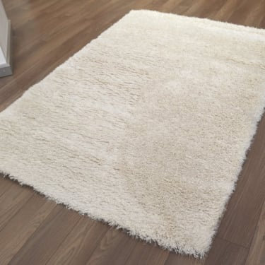 Sunshine Soft 57201-060 Cream Shaggy Rug
