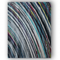 Forever Rugs Zoom 25112-053 Blue Stripe Rug