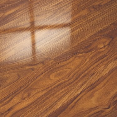 Glamour Life 8mm Black Walnut High Gloss Laminate Flooring (774720)