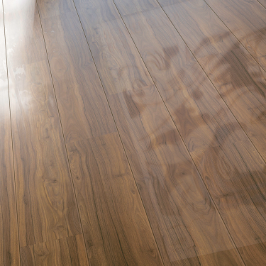 Glamour Life 8mm Canyon Mountain Walnut High Gloss Laminate Flooring (774775)