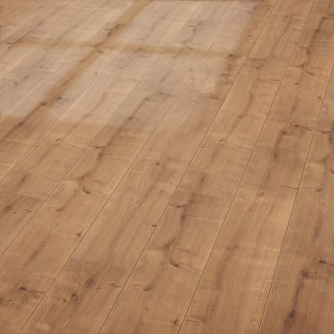 Glamour Life 8mm Oriental Oak High Gloss Laminate Flooring (774747)