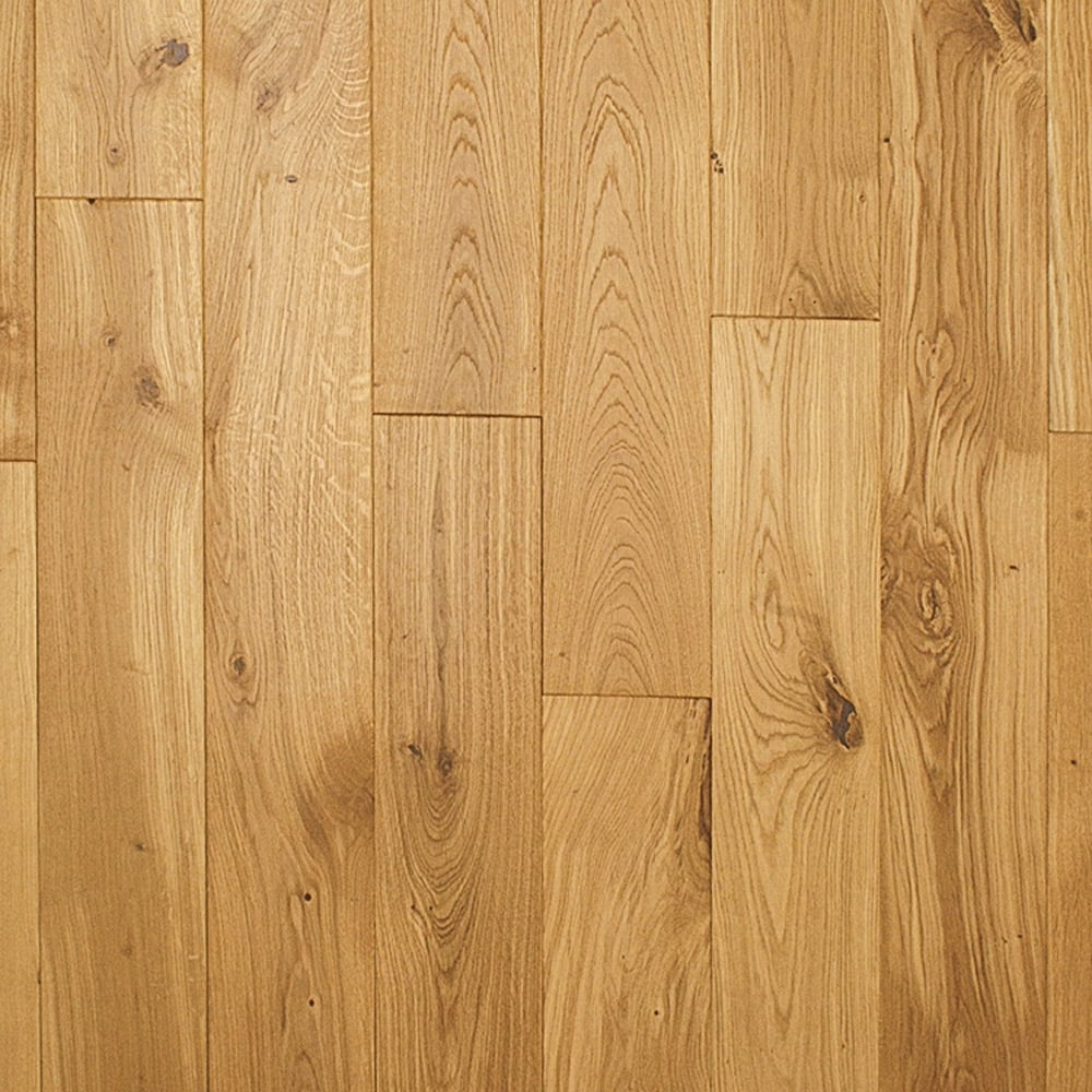 Heritage 20mm x 130mm oak brushed oiled solid wood flooring