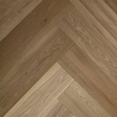 Herringbone 15mm x 148mm Oak HPPC Invisible Oil Engineered Real Wood Flooring (2792)