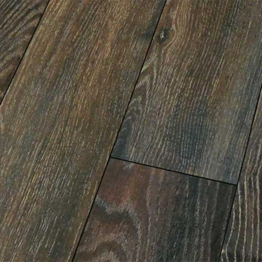 High Gloss 4V 8mm Canyon Black Oak Laminate Flooring (D3686)