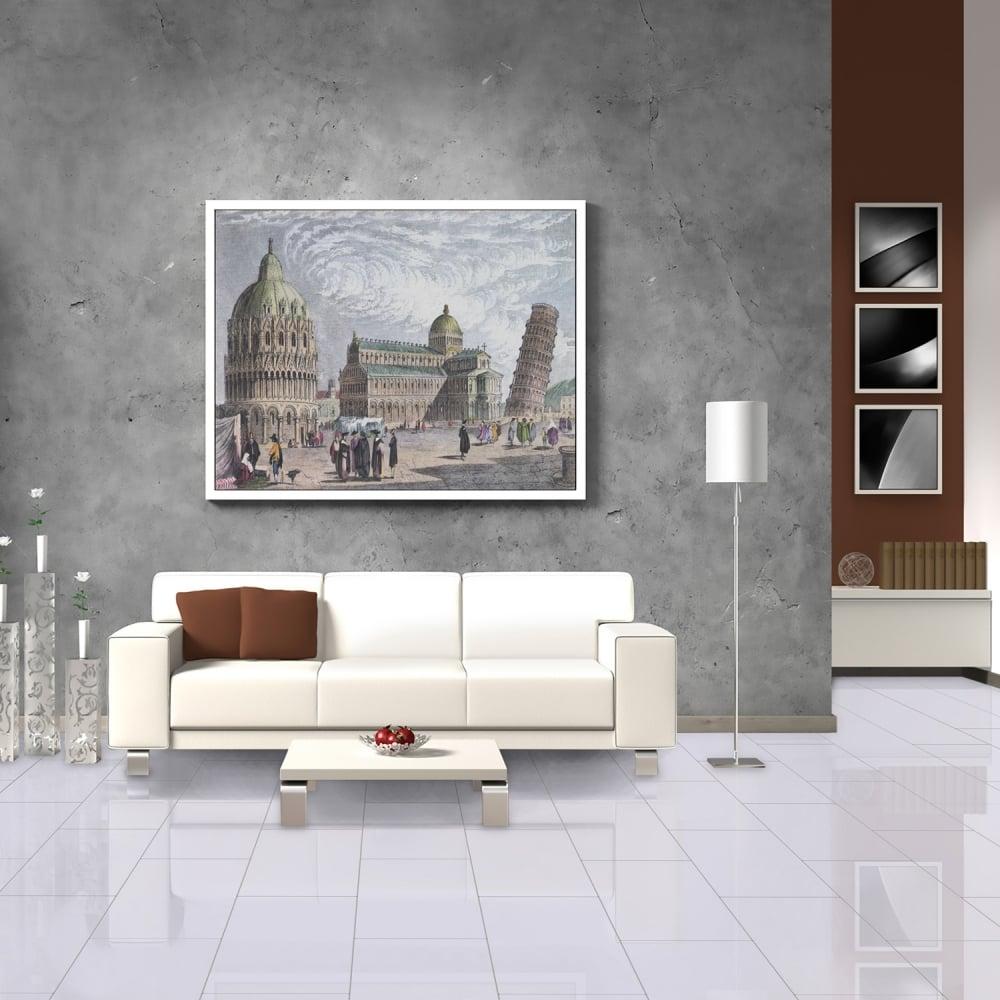 Falquon High Gloss Grey Laminate Tile Flooring Leader Floors
