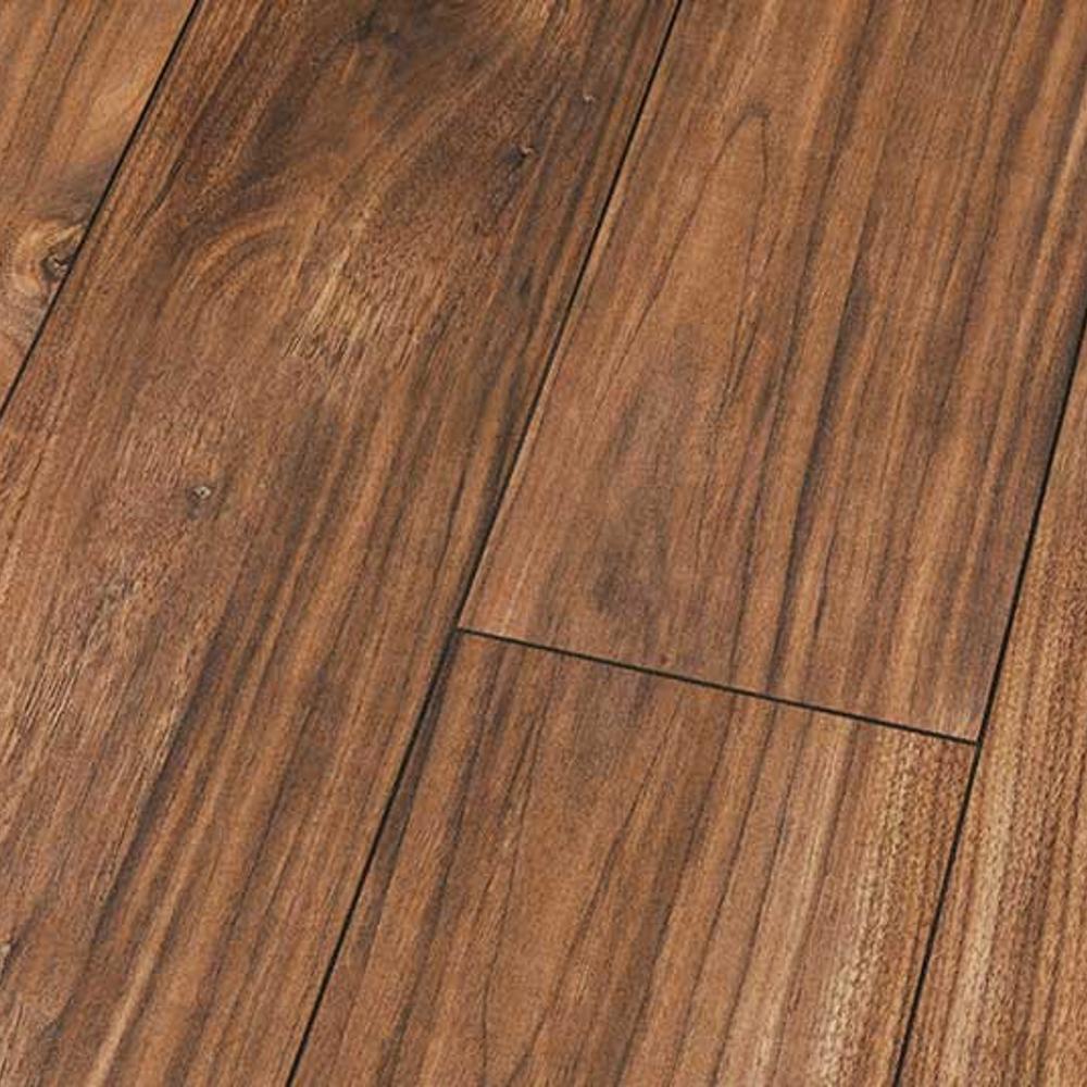 High Gloss 4v 8mm Morris Walnut Laminate Flooring D4188