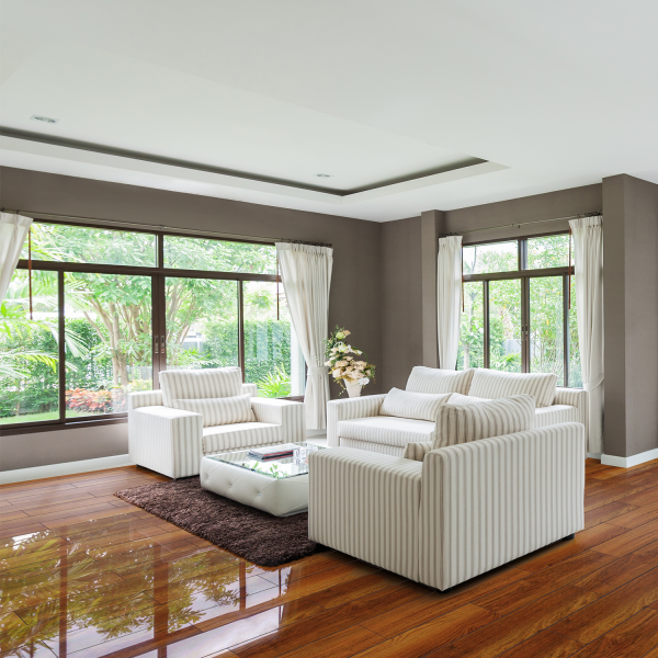 Super Shiny Laminate Flooring Laminate Flooring Hickory Gloss