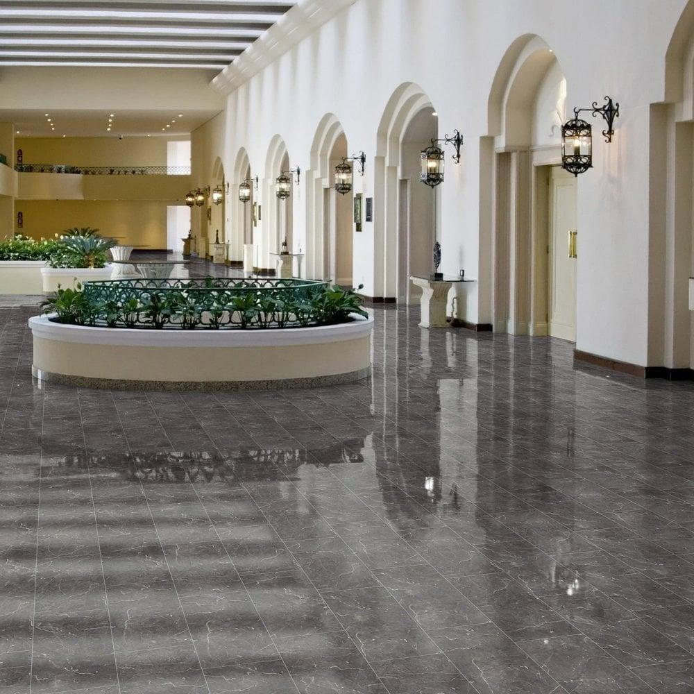 Intermezzo Grey Slate Effect Laminate Flooring 2 05 M: Laminate Flooring Slate Effect