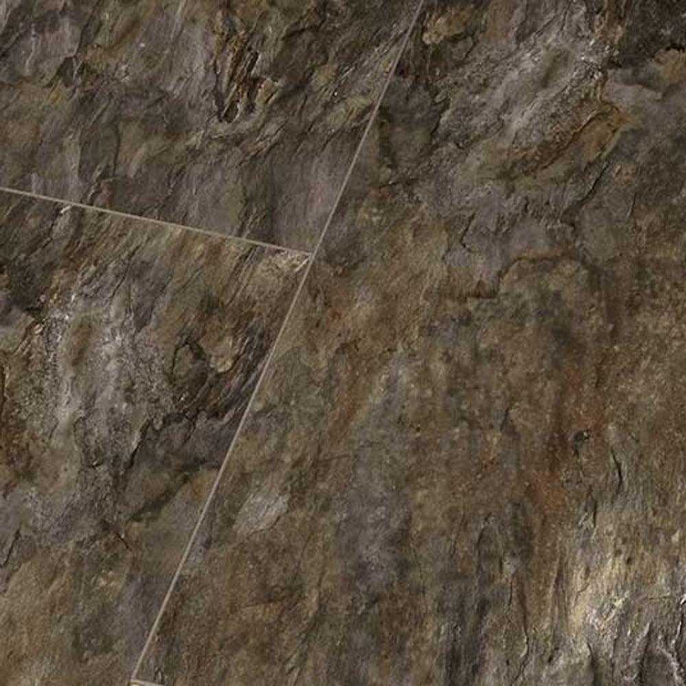 Falquon High Gloss Grizzly Slate Laminate Tile Flooring Leader Floors
