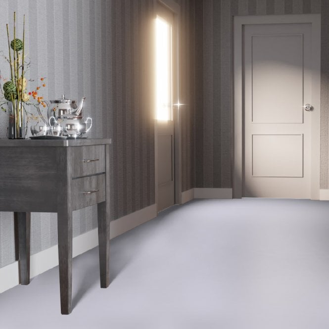 Falquon High Gloss Flat Edge Grey Laminate Flooring