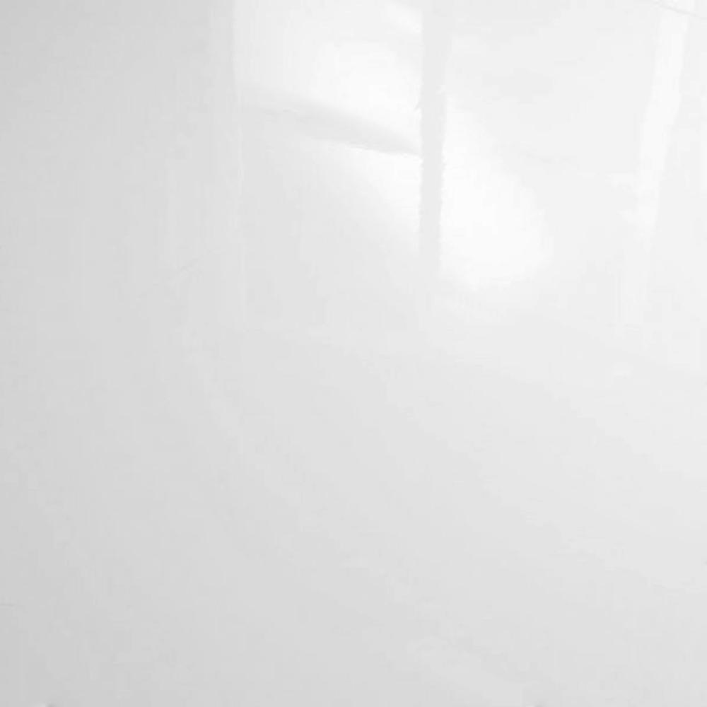 High Gloss Flat Edge 8mm White Laminate Flooring C500