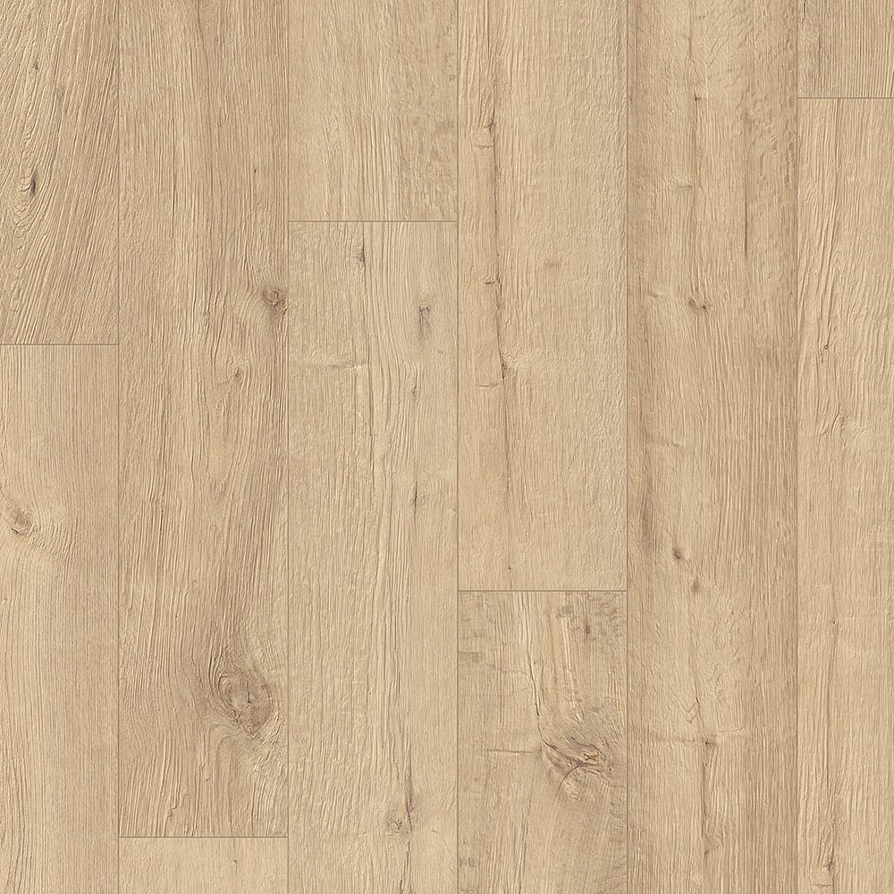 Quickstep Impressive Sandblasted Natural Oak Laminate