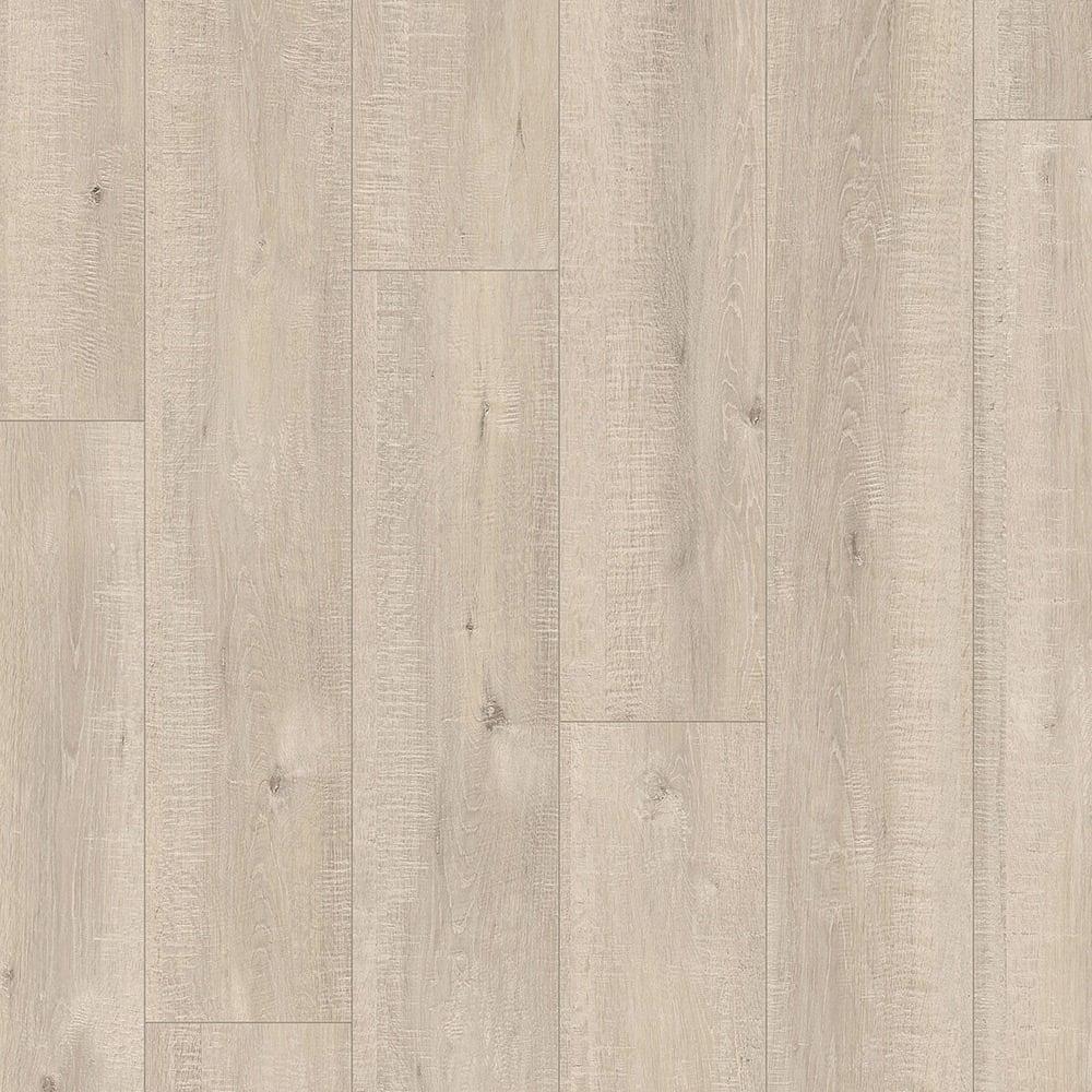 Quickstep impressive 8mm saw cut oak beige laminate - Laminat beige ...