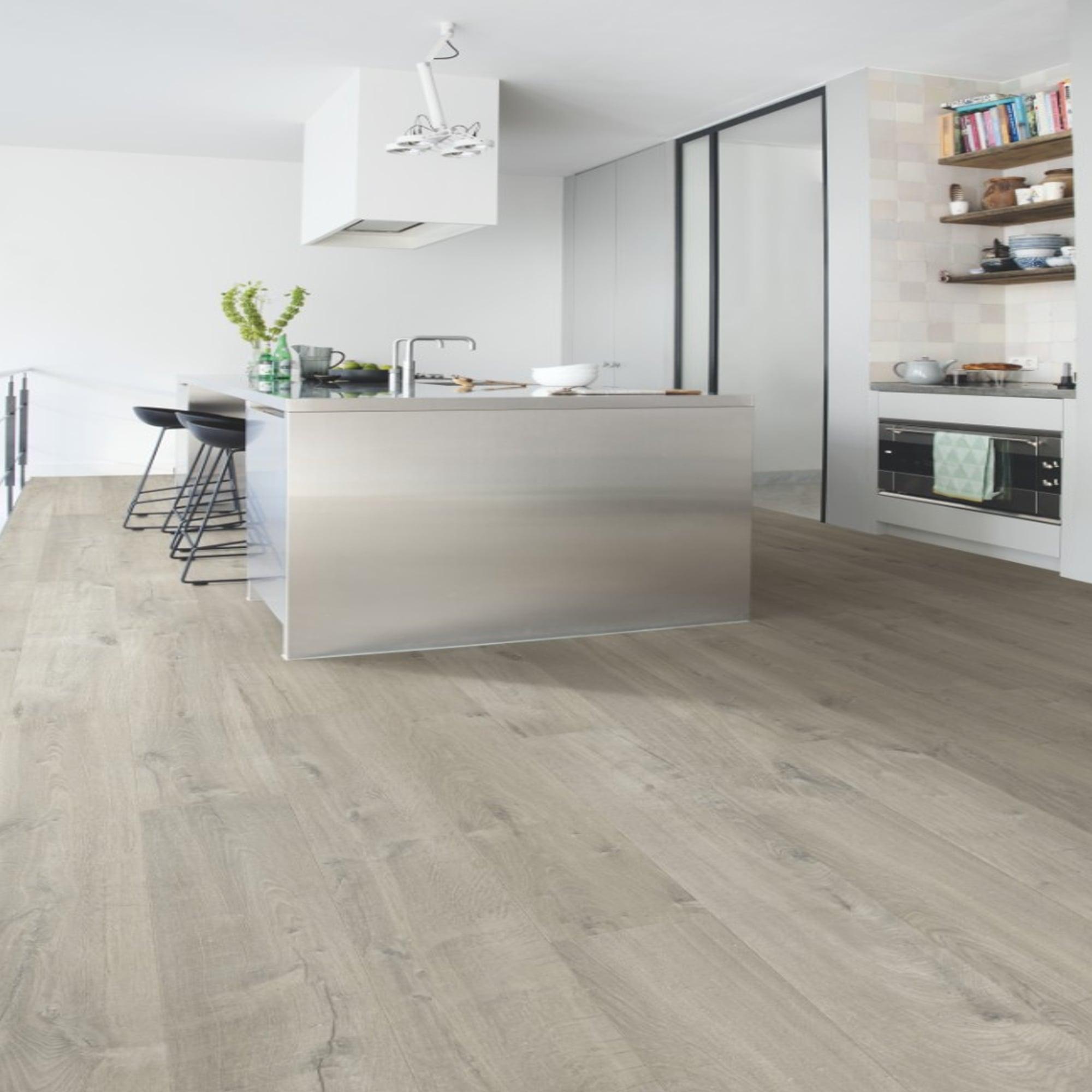 Impressive 5mm Soft Grey Oak Waterproof Laminate Flooring (IM3555)