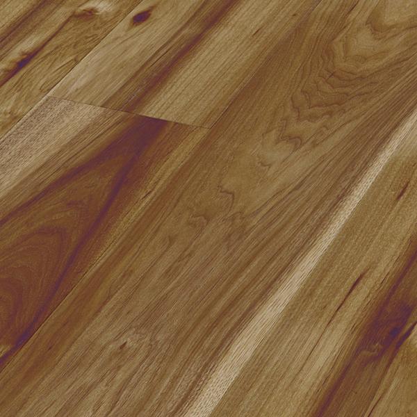 Kaindl creative gloss 10mm hickory high gloss flooring for Creative floors