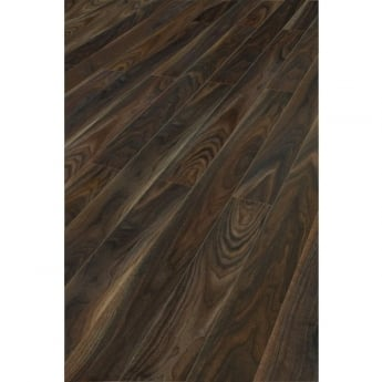 Kaindl Natural Touch Narrow 10mm Rich Dark Walnut 4v Groove Laminate Flooring (7658)