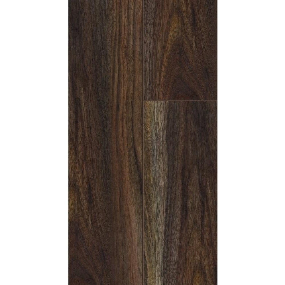 Kaindl natural touch narrow 10mm rich dark walnut laminate for Walnut laminate flooring