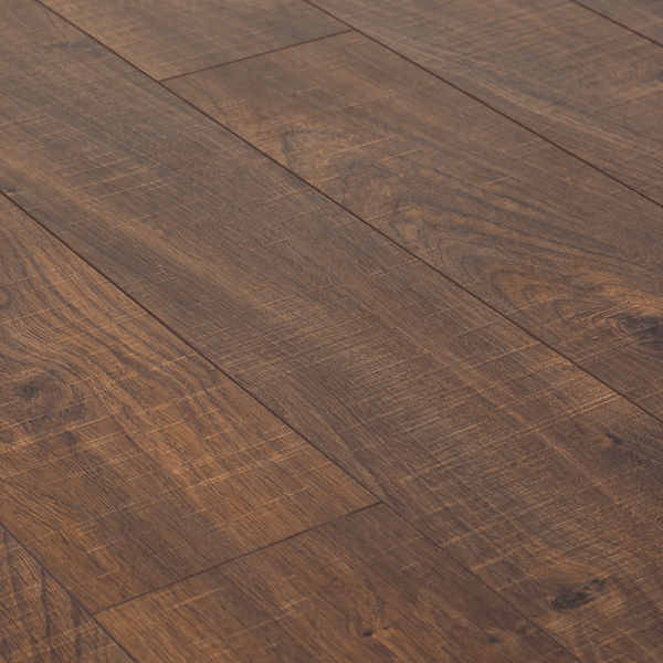 Kaindl Natural Touch Wide 10mm Dark Oak Sawn Laminate