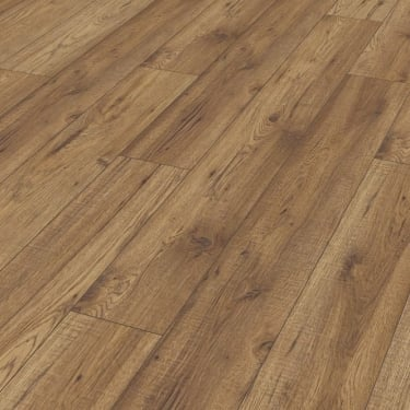 Natural Touch Wide 10mm Handscraped Hickory Chelsea Laminate Flooring (4073)
