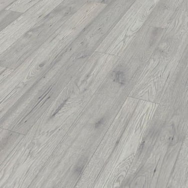 Natural Touch Wide 10mm Handscraped Hickory Fresno Laminate Flooring (4142)