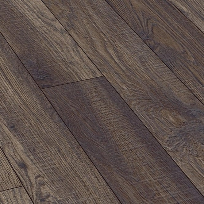Natural Touch Wide 10mm Handscraped Hickory Valley Laminate Flooring (4029)