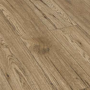 Natural Touch Wide 10mm Handscraped Vintage Blonde Laminate Flooring (4077)