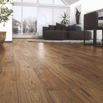 Kaindl Natural Touch Wide 10mm Hickory Chelsea 4v Groove Laminate Flooring (4073)