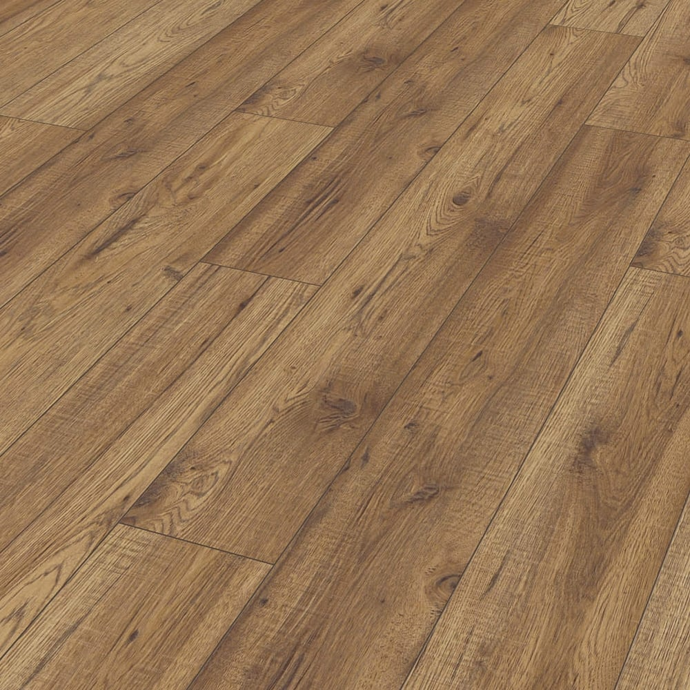 Kaindl natural touch wide 10mm hickory chelsea laminate for V groove laminate flooring