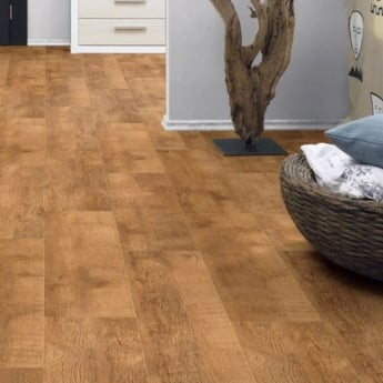 Krono Original Eurohome Cottage Twin Clic 7mm Harvester Oak 4v Groove Laminate Flooring (9747)