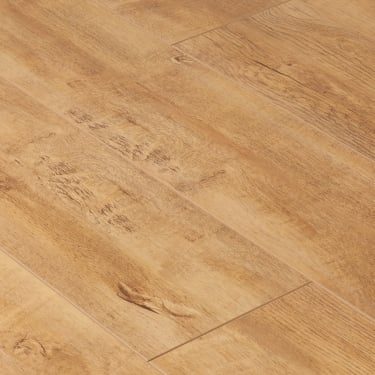 Eurohome Cottage Twin Clic 7mm Harvester Oak 4v Groove Laminate Flooring (9747)