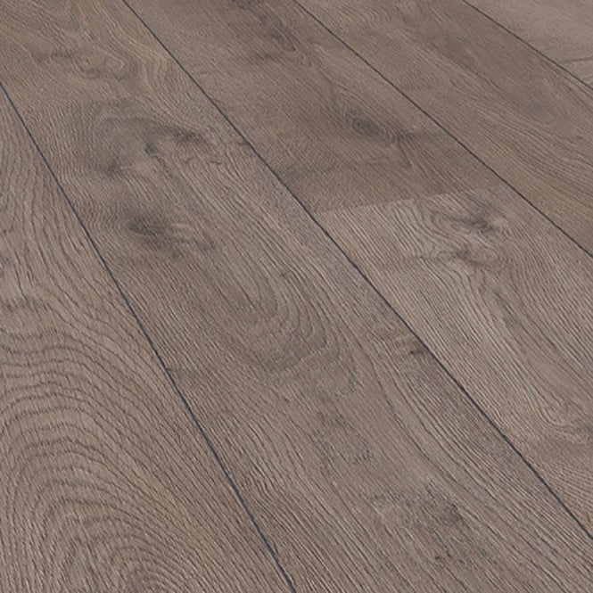Eurohome Cottage Twin Clic 7mm San Diego Oak 4v Groove Laminate Flooring (8096)