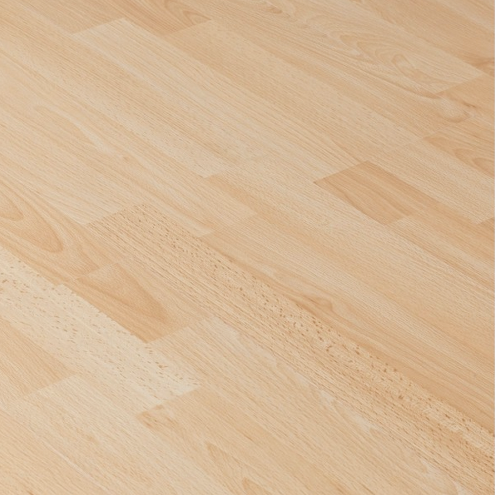Laminate Flooring Beech: Krono Original Kronoclic 6mm Beech Straight Edge Laminate